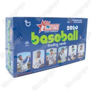 2020 Topps Heritage High Number baseball box