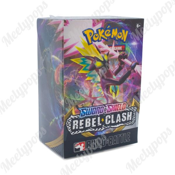 Pokemon Sword and Shield Rebel Clash Build and Battle Deck box