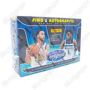 2020-21 Panini Certified Basketball Box