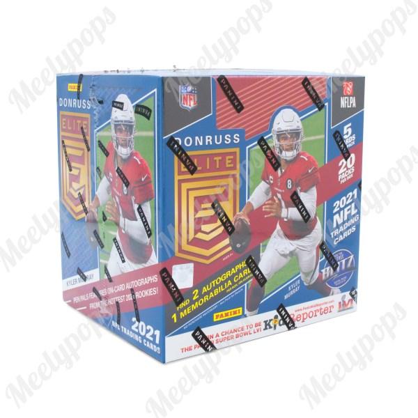 2021 Panini Donruss Elite Football box