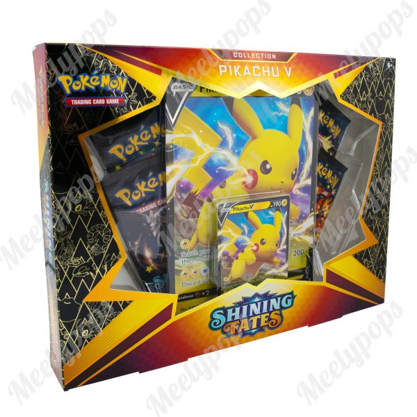 Pokemon Sword and Shield Shining Fates Pikachu V Box