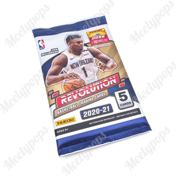 2020-21 Panini Revolution Basketball pack
