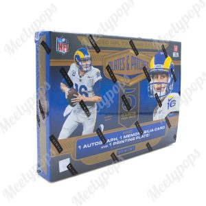 2020 Panini Plates and Patches Football box
