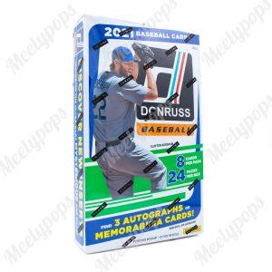 2021 Panini Donruss Baseball Box
