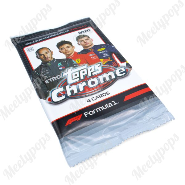 2020 Topps Chrome Formula 1 Racing pack