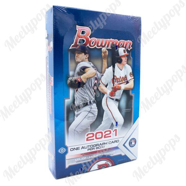 2021 Bowman Baseball box