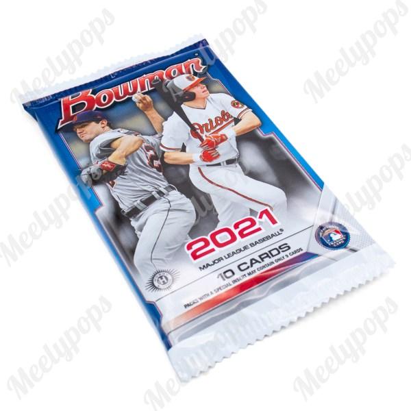 2021 Bowman Baseball pack
