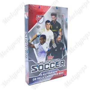 2021 Topps MLS Soccer box