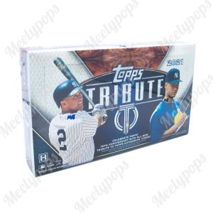 2021 Topps Tribute Baseball box