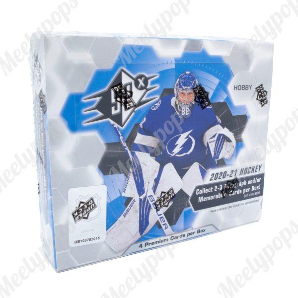 2020-21 UpperDeck SPX Hockey box