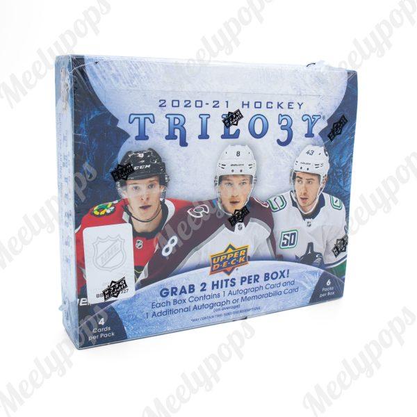 2020-21 Upper Deck Trilogy Hockey box