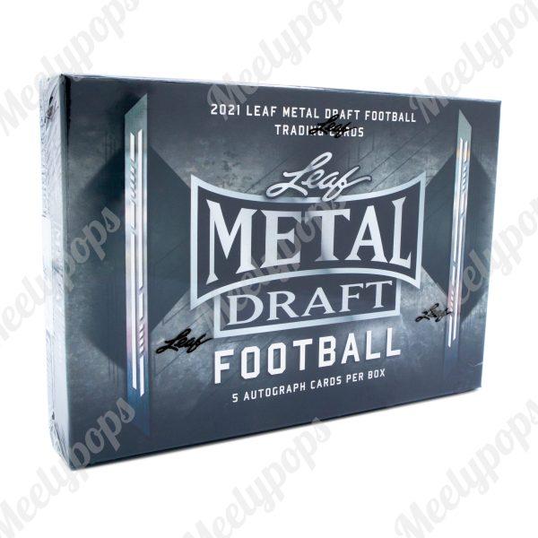 2021 Leaf Metal Draft Football box
