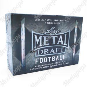 2021 Leaf MetalDraft Football jumbo box