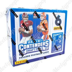 2021 Panini Contenders Draft Pick Football box