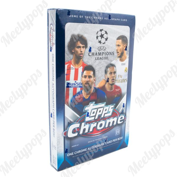 2019-20 Topps UEFA Champions League Chrome Soccer Box