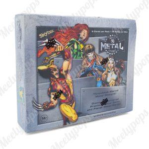 2021 Upper Deck Marvel X-Man Metal Universe box