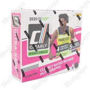 2020-21 Panini Clearly Donruss Basketball box