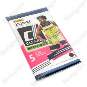 2020-21 Panini Clearly Donruss Basketball pack