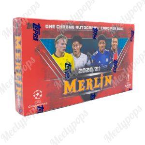 2020-21 Topps Merlin Chrome Soccer box