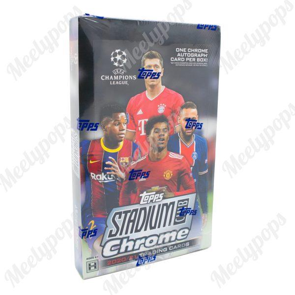 2020-21 Topps UEFA Champions League Stadium Club Chrome Soccer box