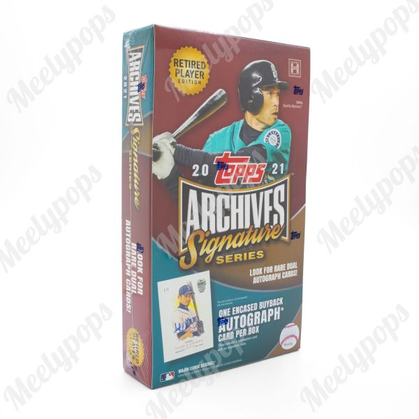 2021 Topps Archives Signature Series Retired Player ED baseball box