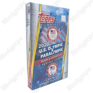 2021 Topps US Olympics and Paralympics Hopefuls box