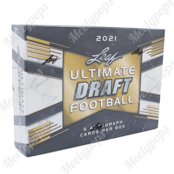 2021 Leaf Ultimate Draft Football box