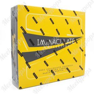 2021 Panini Immaculate Collegiate Football box