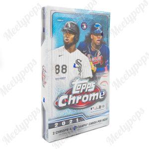 2021 Topps Chrome Baseball box