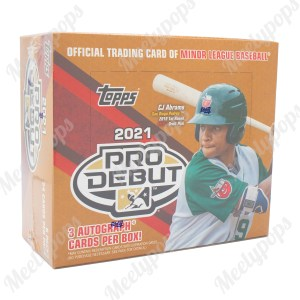 2021 Topps Pro Debut Baseball Jumbo HTA box