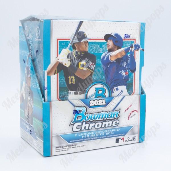 2021 Bowman Chrome Baseball box