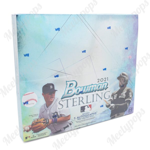 2021 Bowman Sterling Baseball Hobby Mini Box