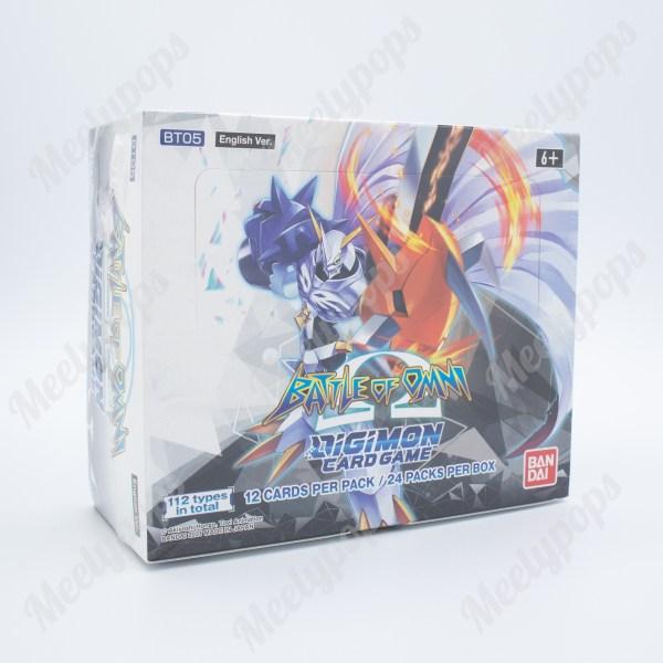 Digimon Battle of Omni Booster Box