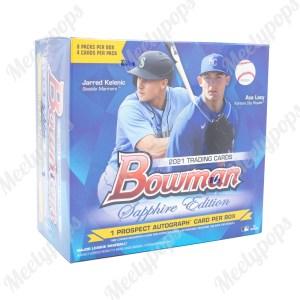 2021 Bowman Basketball Sapphire Edition Box