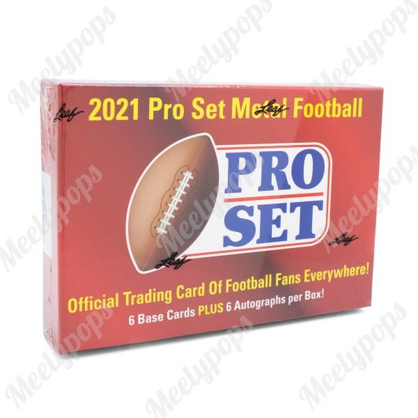 2021 Leaf Pro Set Metal Football Hobby Box