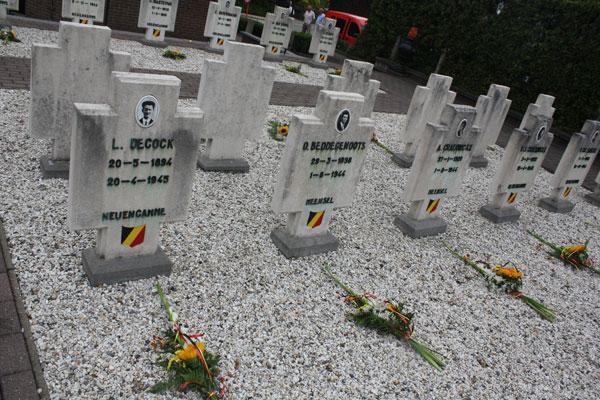 Welke slachtoffers liggen echt op het ere-kerkhof?