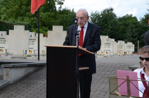 Herdenkingsplechtigheid 3 augustus 2014, toespraak Jozef Craeninckx, Nationaal Voorzitter van N.C.P.G.R.