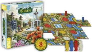 Gardens. Detalle de caja y contenido