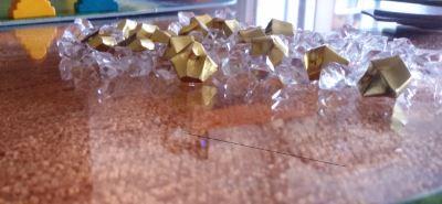 Karuba. Diamantes y pepitas de oro.