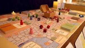 Heroes of Feonora. Detalle del juego.