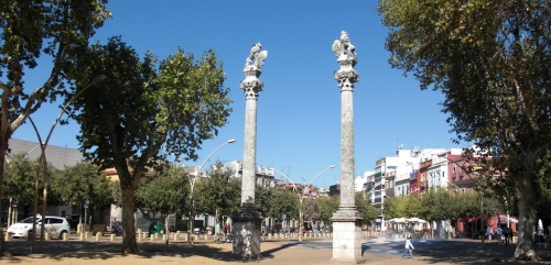 Alameda de Hércules en Sevilla