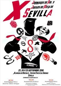 X Jornadas de Rol y Juegos de Mesa en Sevilla