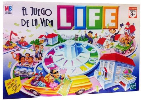 El juego de la vida. Caja del juego