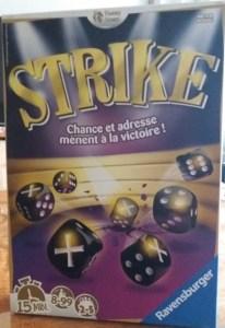Strike. 5 jugadores. 9 y 12 años. (MeeplesYPeques)