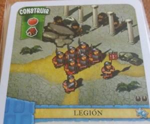 Un colono del imperio. Legión