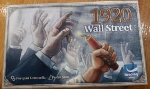 Wall Street 1920. Caja del juego