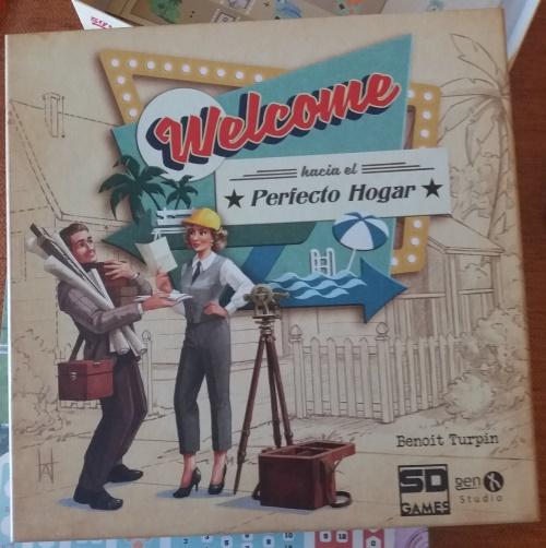 Welcome hacia el perfecto hogar. Caja del juego