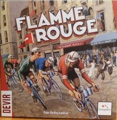Flamme Rouge. Caja del juego