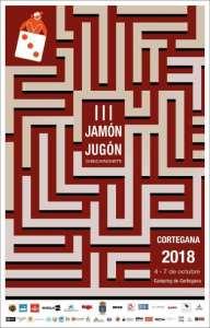 III Jornadas Jamón Jugón. Cartel promocional.