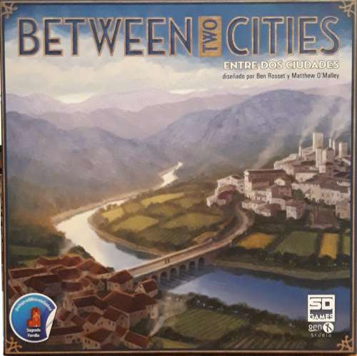Between two Cities. Caja del juego